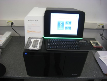 The Next Generation Sequencing (NGS) instrument